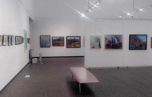 2015アートフォーラム高崎作品展展示風景01
