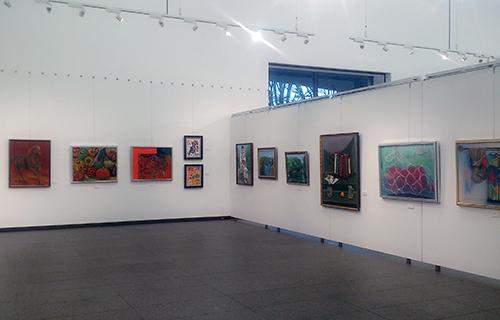 2015アートフォーラム高崎作品展展示風景02
