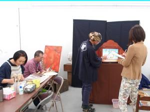 NHKの取材、取材風景